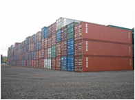Shipping Container Storage Compound - 1500 TEU