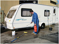 Caravan Wash Down Facility