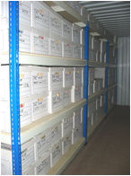A Racked Storage Container Will Store 315 Standard Documents Boxes